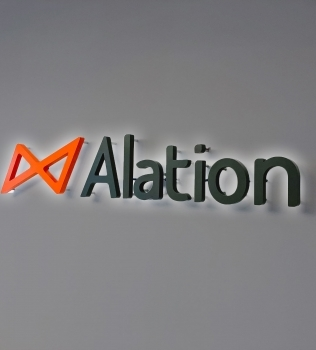 Alation Illuminated Sign
