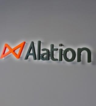Alation Illuminated Sign