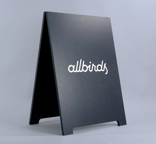 Allbirds A-frame