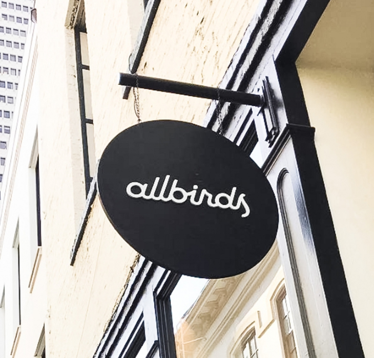 Allbirds Blade Sign