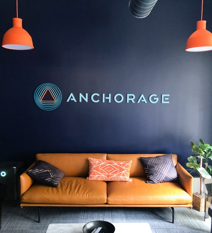Anchorage Lobby Sign
