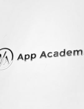 App Academy Column Sign
