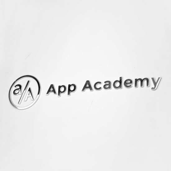 App Academy Column Sign
