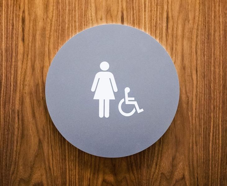Baker McKenzie CA ADA Restroom Signs