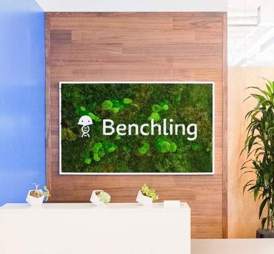Benchling Moss Sign
