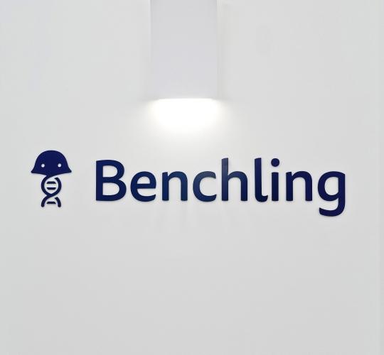 Benchling Elevator Sign