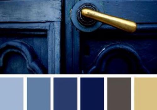 brass color palette