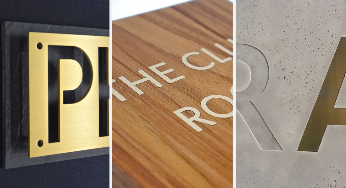 Brass signage: 26 stunning examples of new takes on an old classic