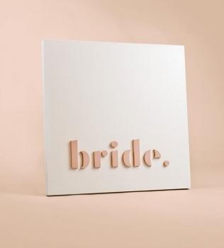 Bride Blade Sign