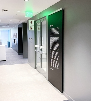Protected: Reception Signage