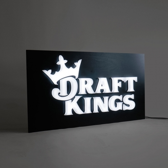 Draft Kings Illuminated Sign