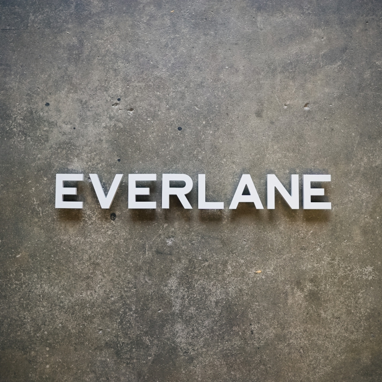 Everlane Store Sign