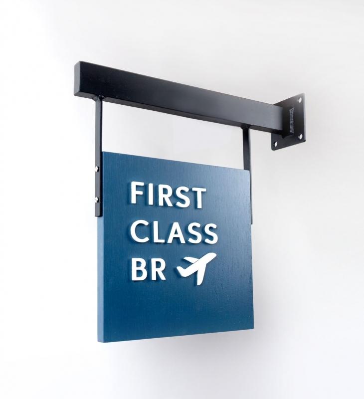 First Class BR Blade Sign