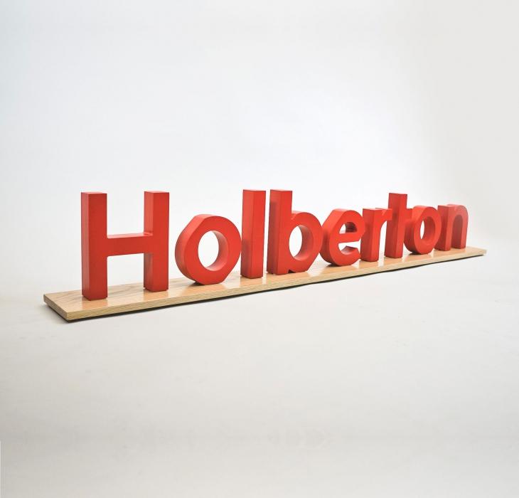 Holberton School, smaller sign