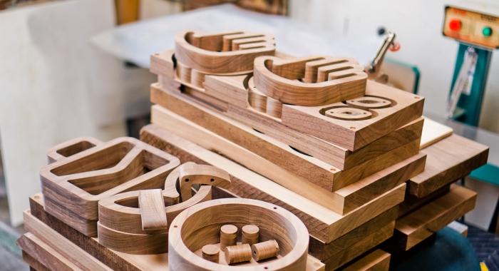 Walnut wood icons