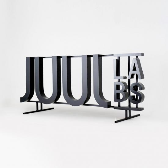 JUUL Shelf Sign