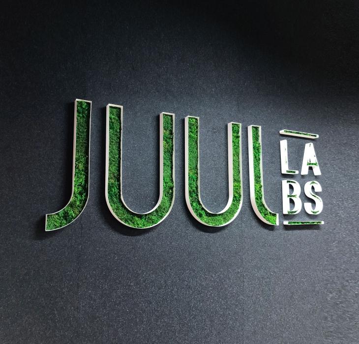 JUUL Moss Sign