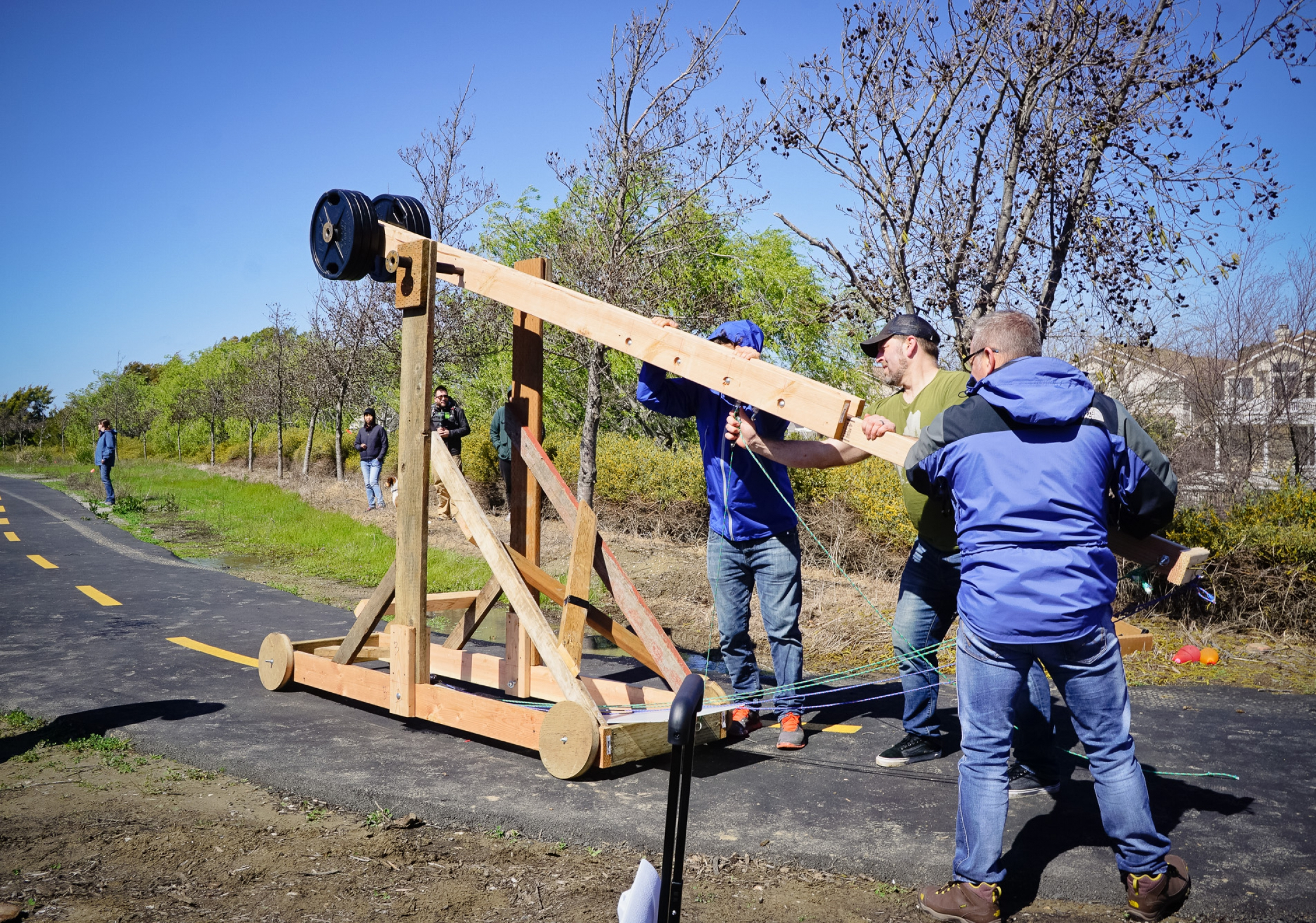 catapult launch day