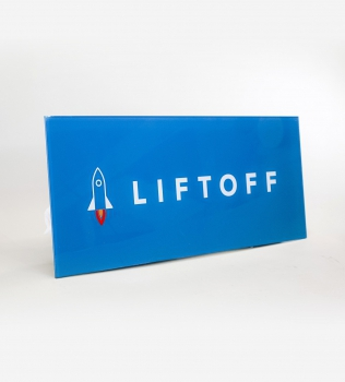 Liftoff Standoff Sign
