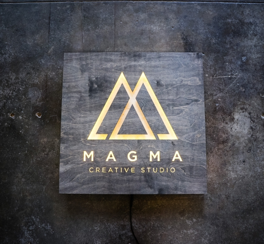 Magma Creative Studio Illuminated Sign