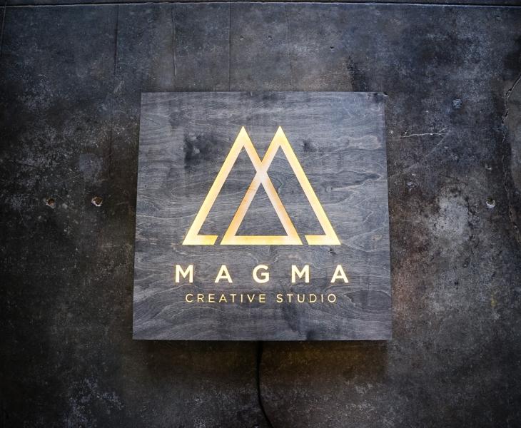 Magma Creative Studio Illuminated Sign