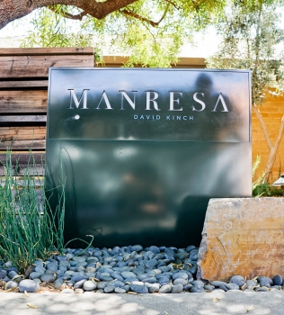 Manresa Monument Sign