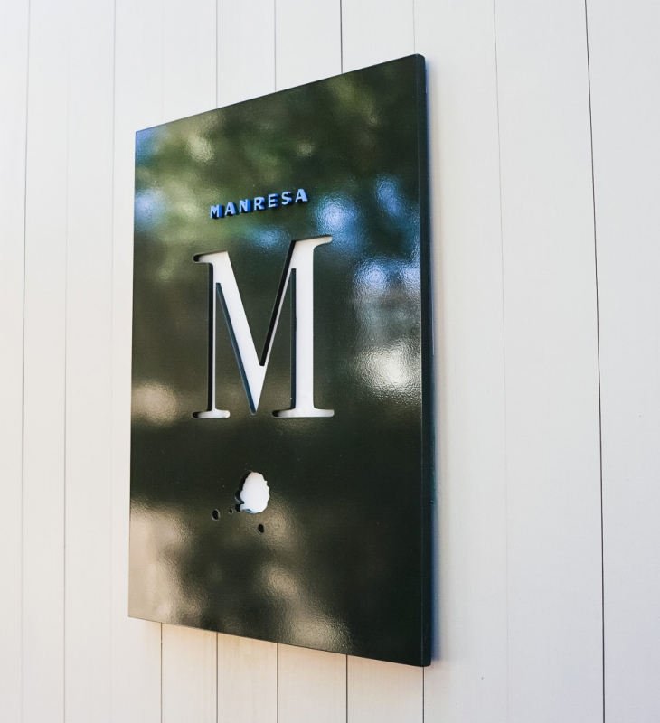 Manresa Entrance Sign