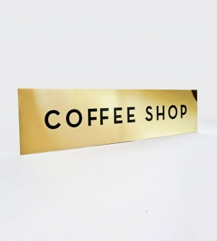 Mickey Fine Pharmacy – Coffee Shop Sign