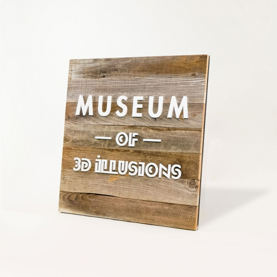 Museum of Illusions Blade Sign