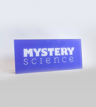 Mystery Science Panel Sign