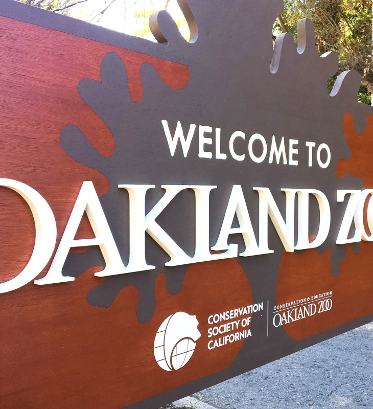 Protected: Oakland Zoo – Welcome Sign