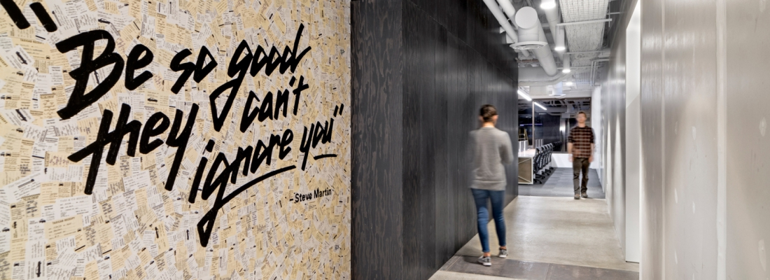 26 inspiring walls with corporate messaging—that look anything but corporate.