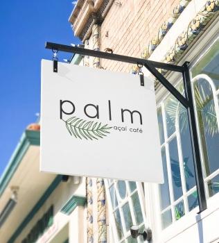 Palm Acai Cafe, Blade Sign