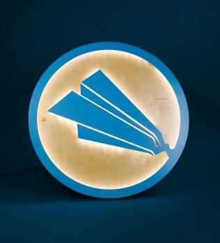 Paperlyte Illuminated Sign