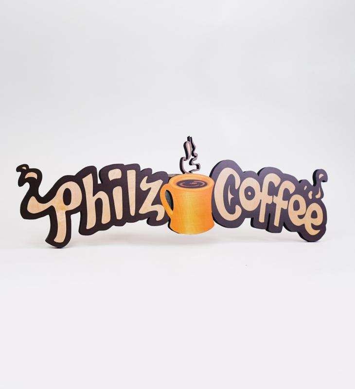 Philz Coffee, logo for menu
