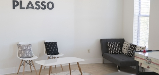 Plasso: How I decked out my startup's office for under $6k