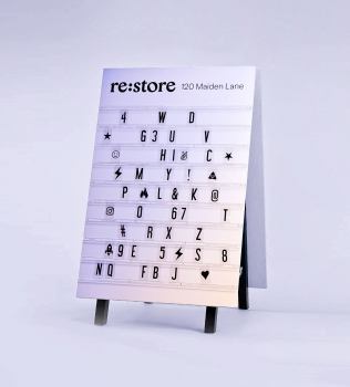 Re:Store A-frame Sign