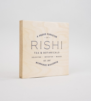 Rishi Tea – Plywood Retail Sign