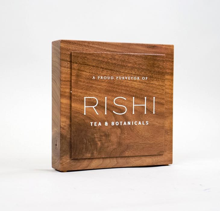 Rishi Tea – Walnut Retail Sign