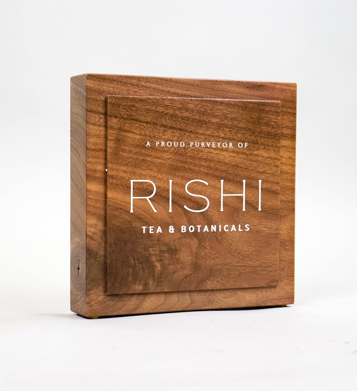 Rishi Tea – Walnut Retail Sign