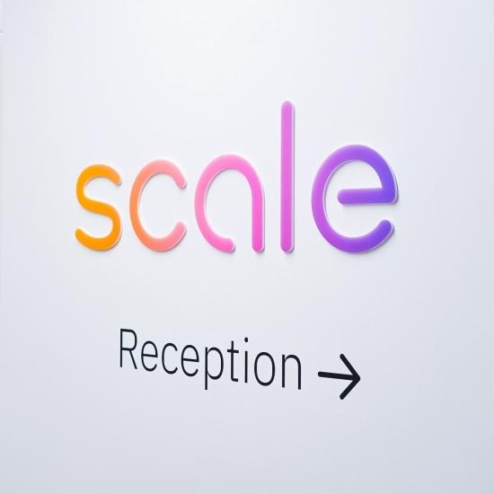 Scale Elevator Vestibule Sign