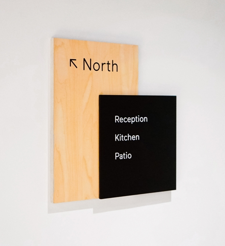 Scale Wayfinding Wall Signage