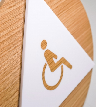 Downloadable Templates for California ADA Restroom Signs