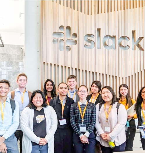 slack group photo