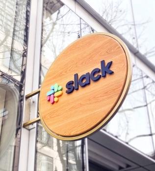 Slack Blade Sign