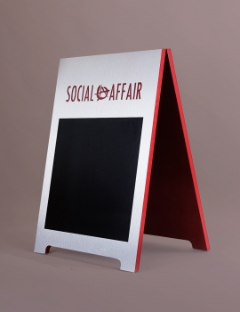 Social Affair A-frame
