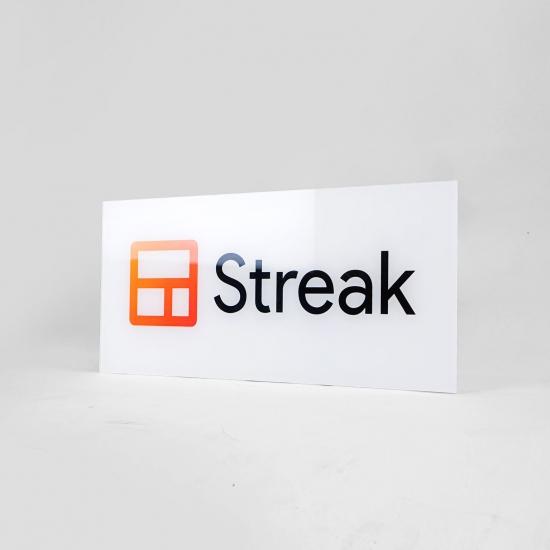 Streak – Panel Sign