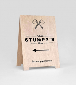 Stumpy's A-Frame