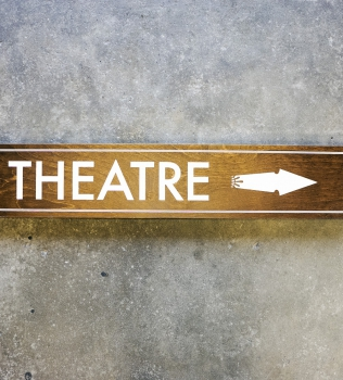 Chagrin Valley Little Theatre Wayfinding Signs