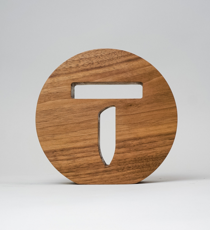 Thumbtack Tabletop Sign